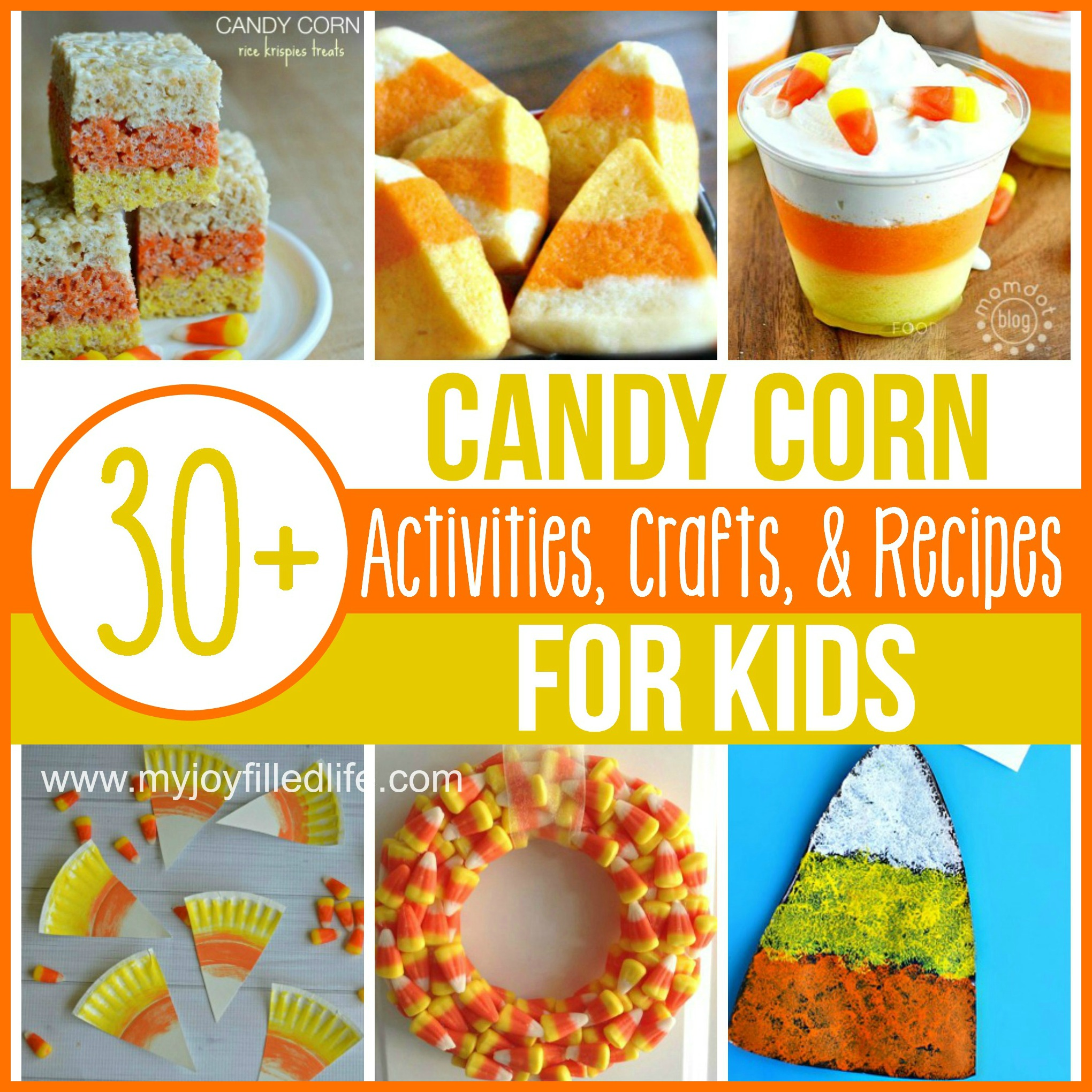 Candy Corn Activities, Crafts, and Recipes for Kids